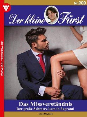 cover image of Der kleine Fürst 200 – Adelsroman