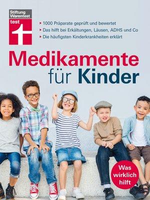 cover image of Medikamente für Kinder