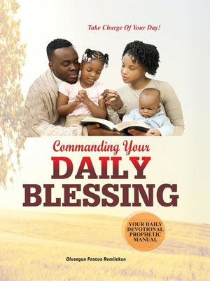 cover image of COMMANDING YOUR DAILY BLESSING