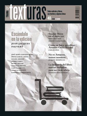 cover image of Texturas 40