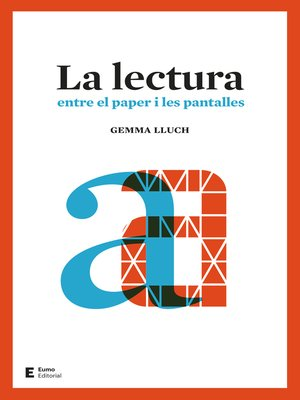 cover image of La lectura