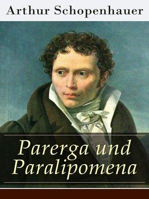 cover image of Parerga und Paralipomena