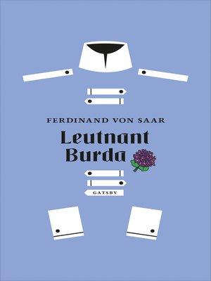 cover image of Leutnant Burda