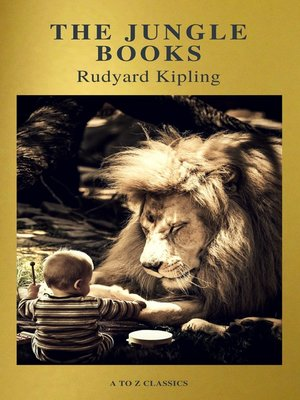 cover image of The Jungle Books (Active TOC, Free Audiobook) (A to Z Classics)