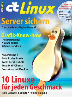 cover image of c't Linux 2015