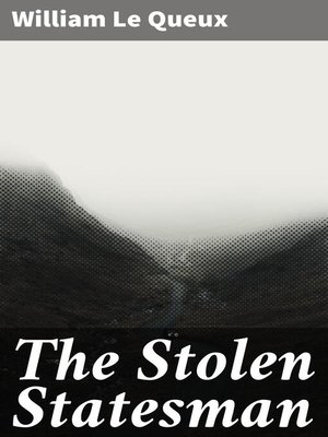 cover image of The Stolen Statesman