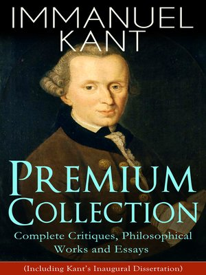 cover image of IMMANUEL KANT Premium Collection