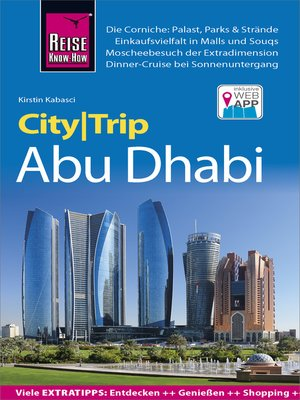 cover image of Reise Know-How CityTrip Abu Dhabi