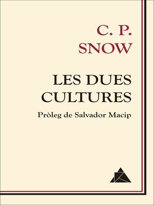 cover image of Les dues cultures