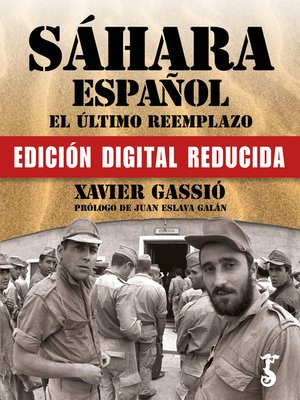 cover image of Sáhara español. El último reemplazo (Edición Lite)