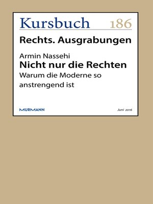 cover image of Nicht nur die Rechten