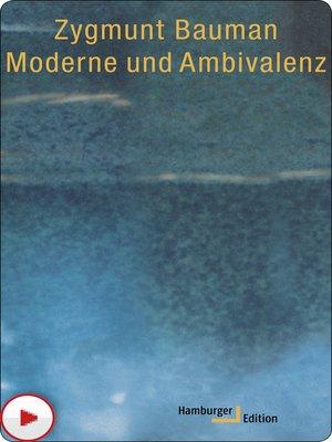 cover image of Moderne und Ambivalenz
