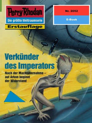 cover image of Perry Rhodan 2052