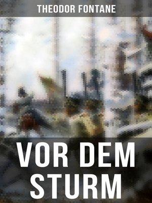 cover image of Vor dem Sturm