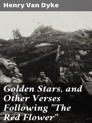 """cover image of Golden Stars, and Other Verses Following """"The Red Flower"""""""