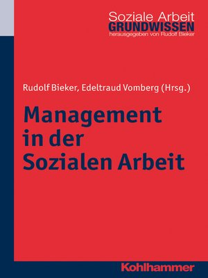 cover image of Management in der Sozialen Arbeit
