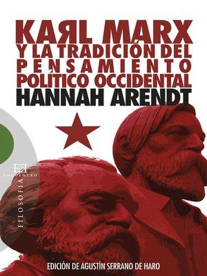 cover image of Karl Marx y la tradición del pensamiento político occidental
