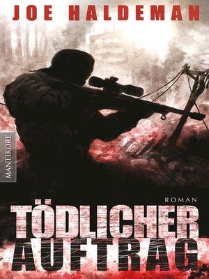 cover image of Tödlicher Auftrag