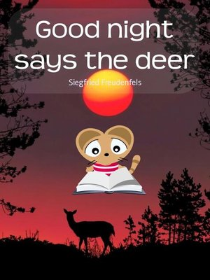 cover image of Good night says the deer