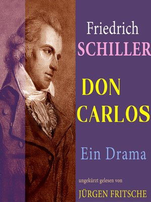 cover image of Don Carlos von Schiller