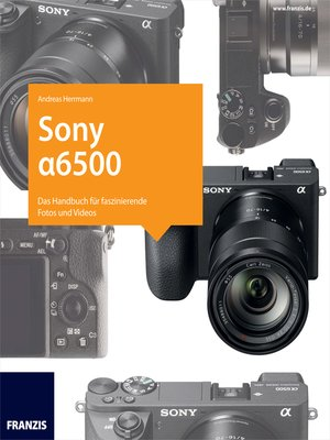 cover image of Kamerabuch Sony Alpha 6500