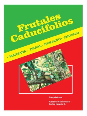 cover image of Frutales caducifolios