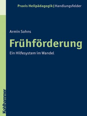 cover image of Frühförderung