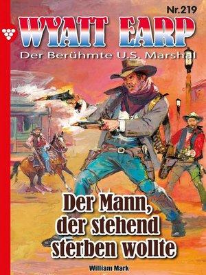 cover image of Wyatt Earp 219 – Western
