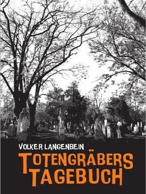 cover image of Totengräbers Tagebuch