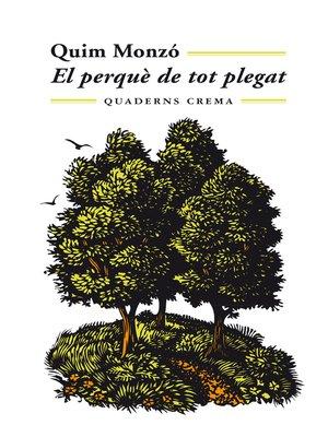 cover image of El perquè de tot plegat