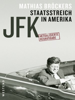cover image of JFK--Staatsstreich in Amerika