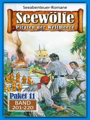 cover image of Seewölfe Paket 11