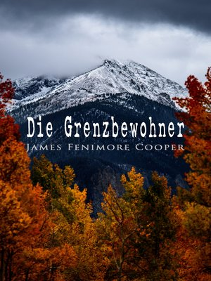 cover image of Die Grenzbewohner