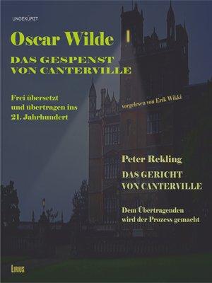 cover image of Das Gespenst von Canterville