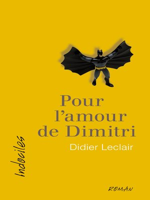 cover image of Pour l'amour de Dimitri