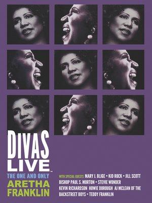 cover image of Aretha Franklin: Divas Live