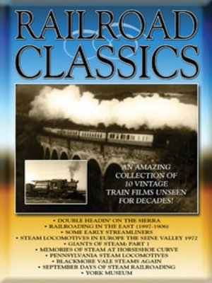 cover image of Railroad Classics