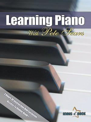 cover image of Learning Piano For Beginners With Pete Sears