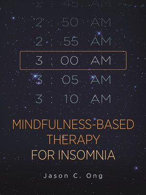 cover image of Mindfulness-Based Therapy for Insomnia