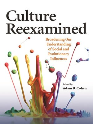 cover image of Culture Reexamined