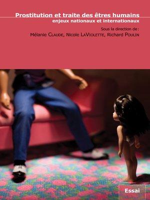 cover image of Prostitution et traite des être humains