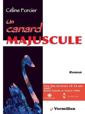 cover image of Un canard majuscule