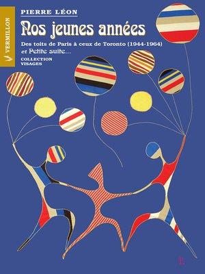 cover image of Nos jeunes années