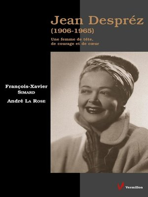 cover image of Jean Despréz (1906-1965)