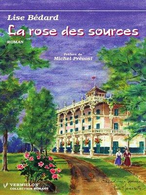 cover image of La rose des sources
