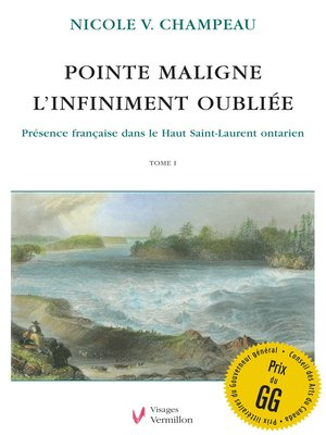 cover image of Pointe Maligne. L'infiniment oubliée