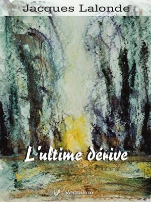 cover image of L'ultime dérive