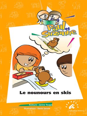 cover image of Le nounours en skis