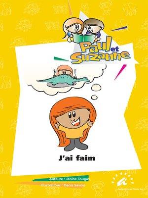 cover image of J'ai faim