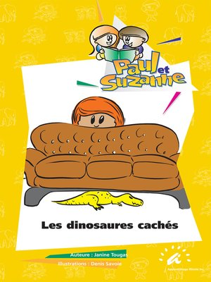 cover image of Les dinosaures cachés